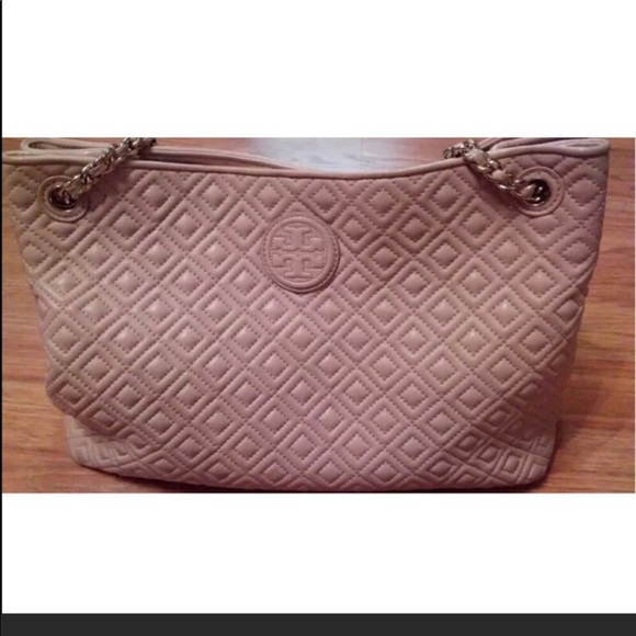 Tory Burch Bags Marion Quilted Tote Bag Poshmark